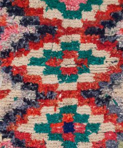 2×6 AfellanBoucherouite rug, The Psychedelic tapestry of Moroccan rugs.