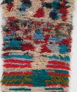 2×6 Afennich Boucherouite rug, The Psychedelic tapestry of Moroccan rugs.