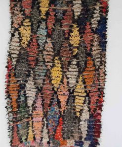 4×6 Afaraj Boucherouite rug, The Psychedelic tapestry of Moroccan rugs.