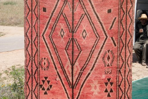 sold out 3×7 Azilal rug, The Stunning Moroccan Berber carpet RD060