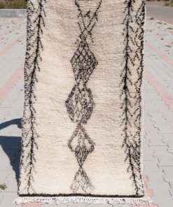 sold out 3×5 small white Azilal rug, The Stunning Moroccan Berber carpet.
