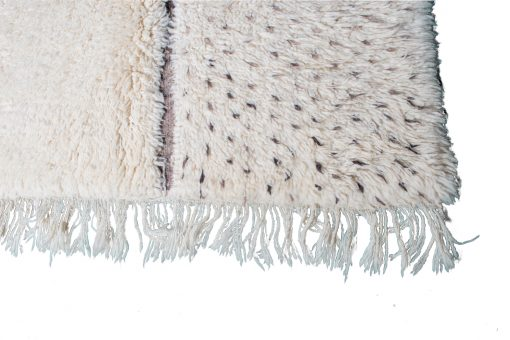 Beni ourain rug , The Authentic white and black rug, The Moroccan rug 300 x 195 cm / 9.6 x 6.2 ft