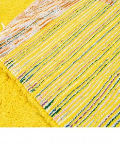 abstract Modern Moroccan Rug contemporary 220 x 189 cm / 7 x 6 ft