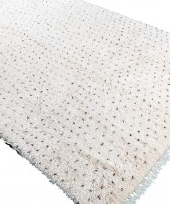 Beni ourain rug , The Authentic white and black rug, The Moroccan rug 288 x175 cm / 9.2 x 5.6 ft